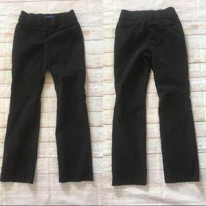 Apt. 9 | Brynn Black Straight Leg Stretch Pants